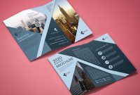 Fold Over Business Card Template New Tri Fold Corporate Business Brochure Template