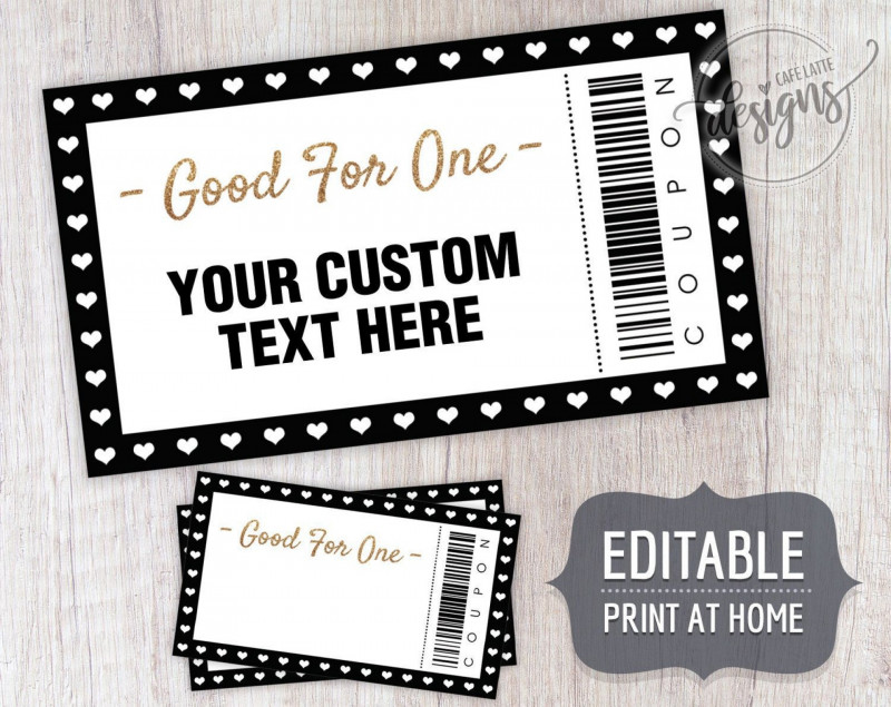 Free Blank Greeting Card Templates For Word Awesome Blank Coupon Template Free Addictionary
