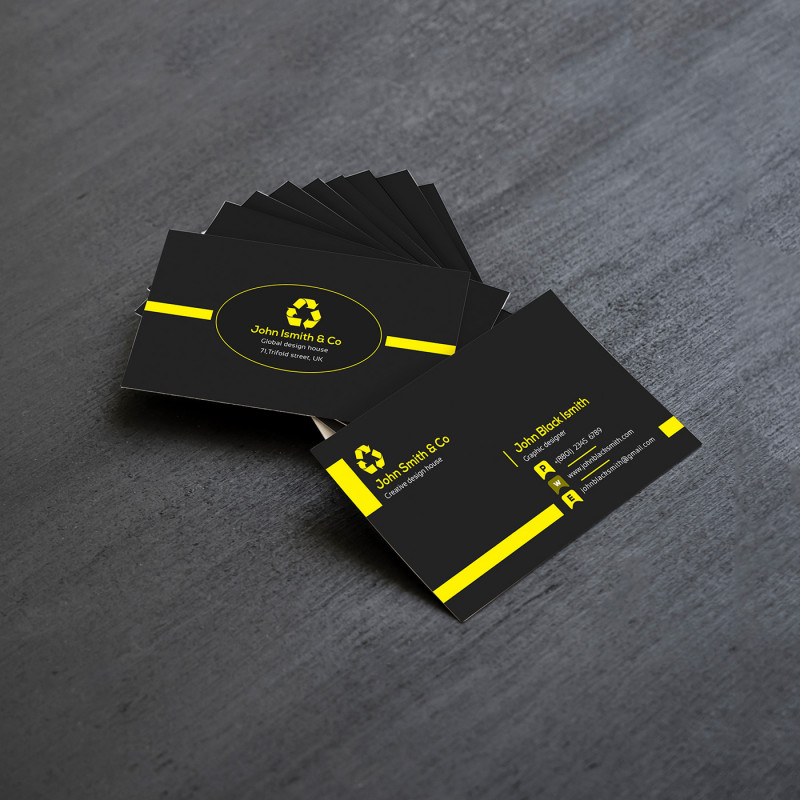 Free Business Card Templates In Psd Format Unique Free Business Card Template And Mockup On Behance
