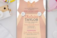 Free Christening Invitation Cards Templates Awesome Personalised Baby Boy or Girl Smart Christening Baptism