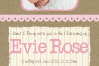 Free Christening Invitation Cards Templates Unique Free Printable Baby Christening Invitations Jowo