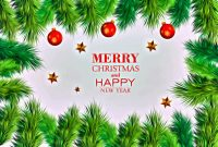 Free Christmas Card Templates for Photoshop Awesome Free Merry Christmas and Happy New Year Greeting Card