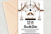 Free Christmas Card Templates for Photoshop Awesome Save the Date Card Template by Designhub thehungryjpeg Com