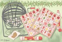 Free Holiday Photo Card Templates Awesome 11 Free Printable Christmas Bingo Games for the Family