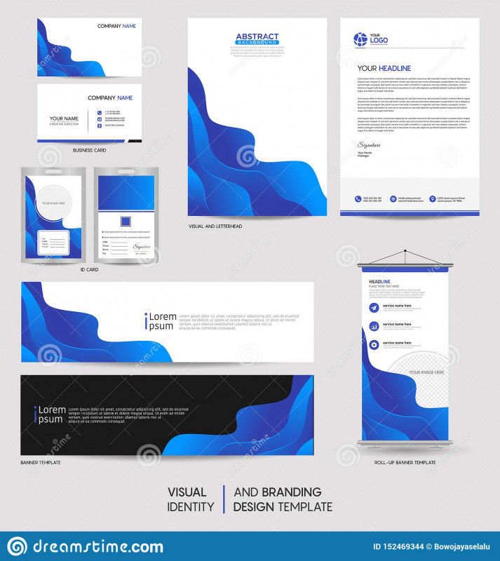 Free Place Card Templates Download Unique Modern Stationery Mock Up Set And Visual Brand Identity With