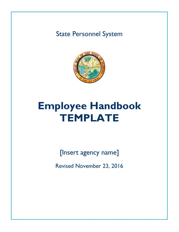 Free Pledge Card Template Unique 42 Best Employee Handbook Templates Examples A… Templatelab