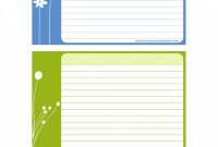 Free Printable Blank Flash Cards Template Awesome 47 Free Recipe Card Templates Word Google Docs