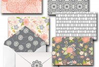 Free Printable Blank Greeting Card Templates Unique 20 Pack 4×6 All Occasion assorted Floral Blank Note Cards Greeting Card Bulk Box Set with Envelopes and Seal Stickers Envelopes Stationary Boxed Set