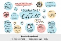 Free Svg Card Templates Awesome Quarantine Quotes 2
