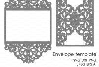 Free Svg Card Templates New Wedding Invitation Pattern Card Template Lace Folds Studio