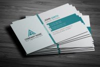 Free Template Business Cards to Print Awesome 150 Free Business Card Psd Templates