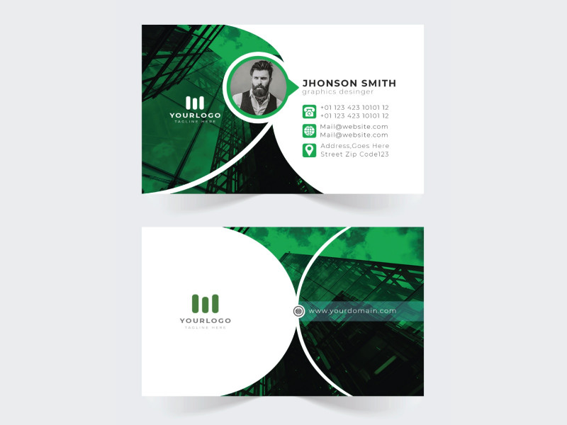 Freelance Business Card Template Unique Creative Businesscard Design By Md Minhajul Islam On Dribbble