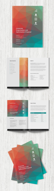 Front And Back Business Card Template Word Awesome 31 Consulting Proposal Templates To Close Deals Venngage