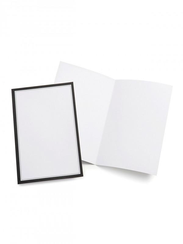 "Gartner Business Cards Template Unique Gartnera""¢ Studios Wedding Programs Half Fold 8 1 2 X 11 White With Black Border Pack Of 50 Item 684645"