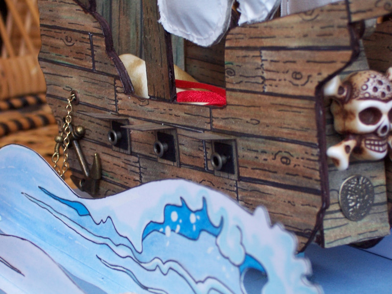Get Well Card Template Awesome Whitch Craft 21st Birthday Pirate Ship Card For My Son