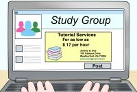 Graduate Student Business Cards Template Unique How to Advertise to Be A Tutor 14 Steps with Pictures