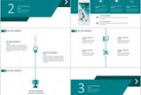 Greeting Card Template Powerpoint Awesome Business Infographic 23 Blue Business Chart Report
