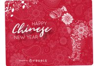 Greeting Card Template Powerpoint Unique Mandala Chinese New Year Design Vector Download