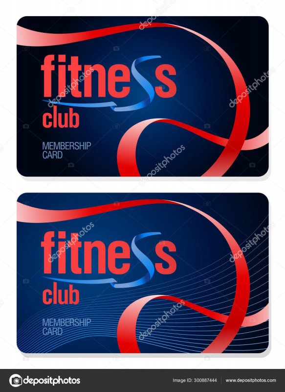 Gym Membership Card Template Unique Aˆ Wellness Programs Stock Pictures Royalty Free Gym