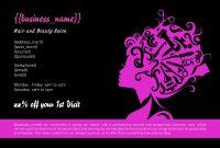 Hair Salon Business Card Template New Fashion Business Card Template Apocalomegaproductions Com