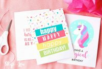 Happy Birthday Pop Up Card Free Template New 10 Free Printable Birthday Cards for Everyone