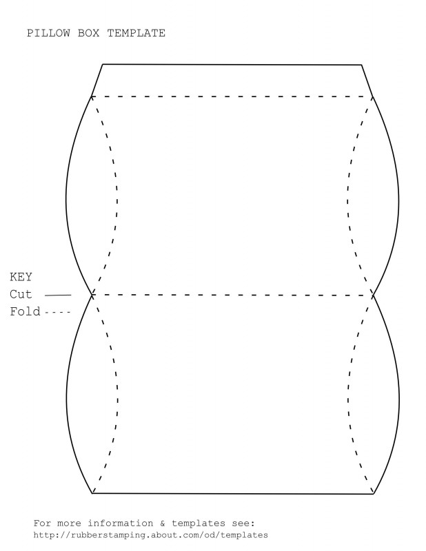 Heart Pop Up Card Template Free New Make A Versatile Pillow Gift Box With Our Free Pdf Template