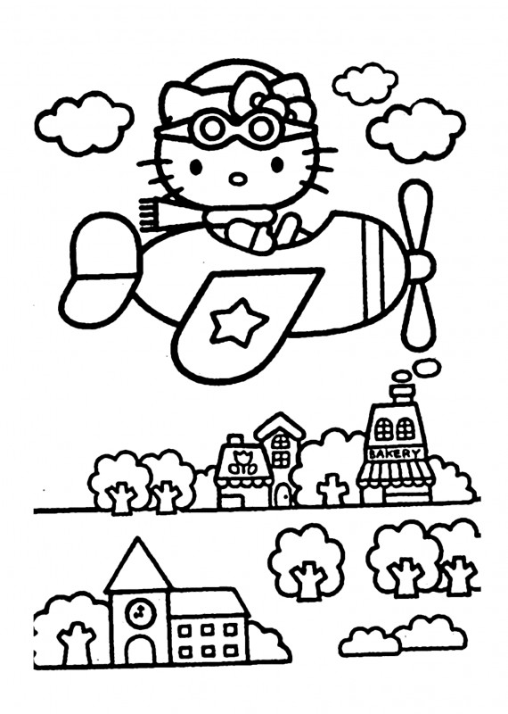 Hello Kitty Birthday Card Template Free Unique Hello Kitty Worksheet For Kids Printable Worksheets And