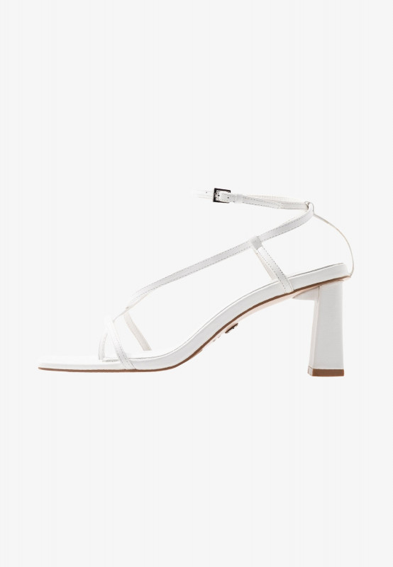High Heel Shoe Template For Card New Nico Heel T Bar Sandals White