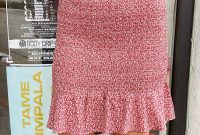 High Heel Template for Cards New Marlena Smocked Skirt Red