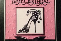 High Heel Template for Cards Unique 83 Best Cards Shoes Images Cards Cards Handmade Birthday