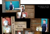 High School Id Card Template Unique A Guy Thing Graduation Announcement Templatesfor