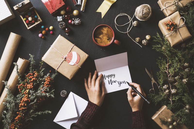 Holiday Card Templates For Photographers Unique 6 Free Printable New Year Cards For Friends And Family