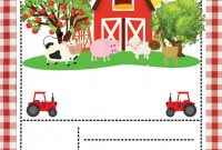 Horse Stall Card Template Unique Free Farm Party Invitation Template Printable Drevio