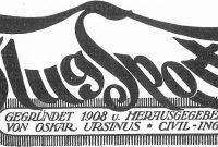 Horse Stall Card Template Unique Zeitschrift Flugsport 1925 Luftfahrt Motorflug