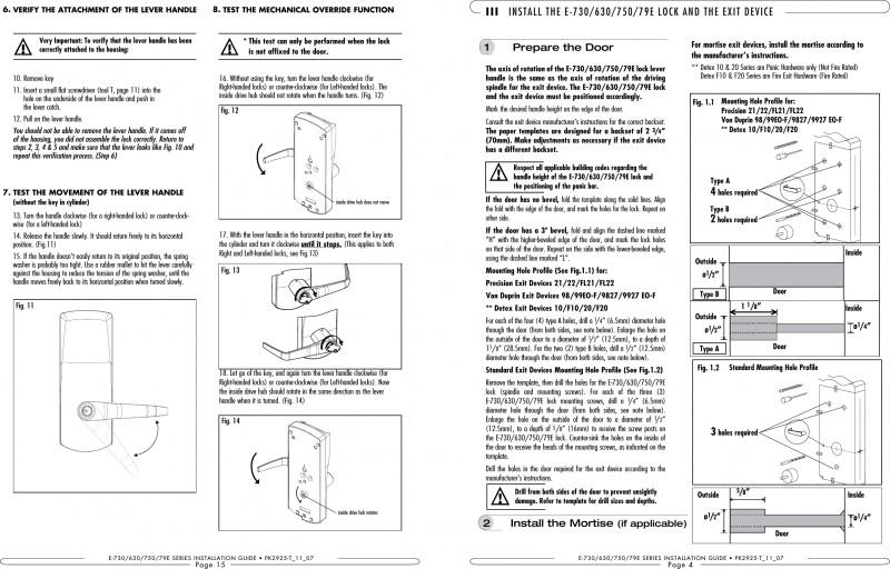 Hotel Key Card Template Unique Csc790 Door Lock User Manual Manual Kaba Ilco