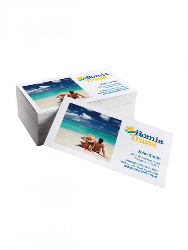 Hvac Business Card Template New Same Day Business Cards 3 1 2 X 2 Matte Gloss White Box Of 50 Item 746243