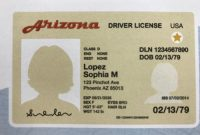 Id Card Template Word Free New Real Id for Arizona Residents Heres What You Need to Get One