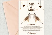 Indesign Birthday Card Template Awesome Wedding Invitation Templates