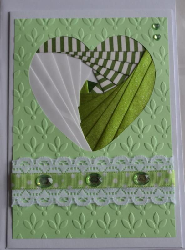 Iris Folding Christmas Cards Templates Awesome Iris Folding Heart Iris Folding Pattern Iris Folding
