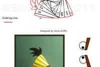 Iris Folding Christmas Cards Templates Awesome Yellow Angry Bird Iris Folding Iris Folding Templates