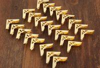 Iris Folding Christmas Cards Templates New Book Folding 20 X Gold Corner Protectors Flower Pattern 23mm