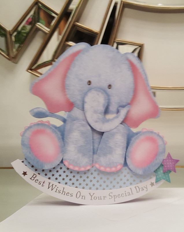 Kanban Card Template Unique Cute Elephant Wobbler Card That Rocks From Side To Side