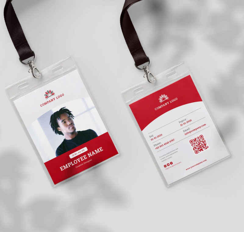 Media Id Card Templates Unique 101 Best Id Card Design Templates Images In 2020 Card