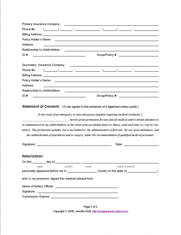 Medical Alert Wallet Card Template Awesome Heres Why You Should Prepare A Medical Release Form For