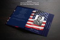 Memorial Card Template Word New Funeral Program Template 8 Pages Graduated Fold Funeral