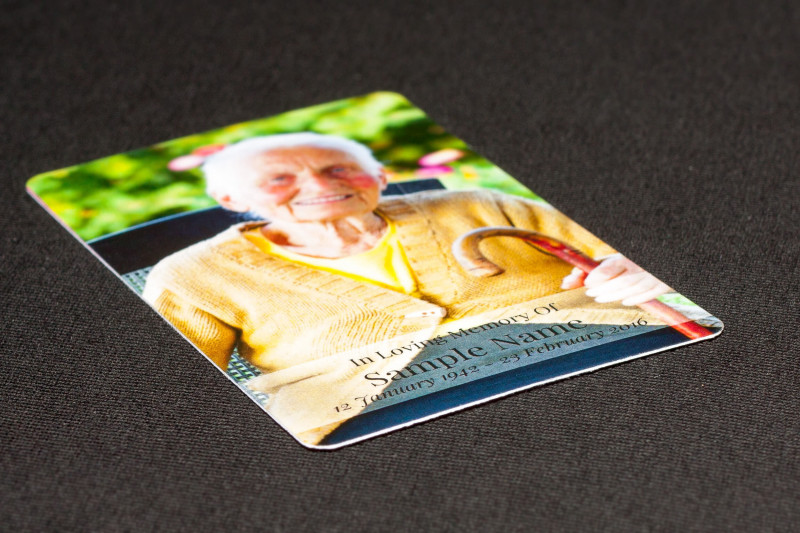 Memorial Card Template Word Unique Order Personalised Wallet Memorial Cards Online