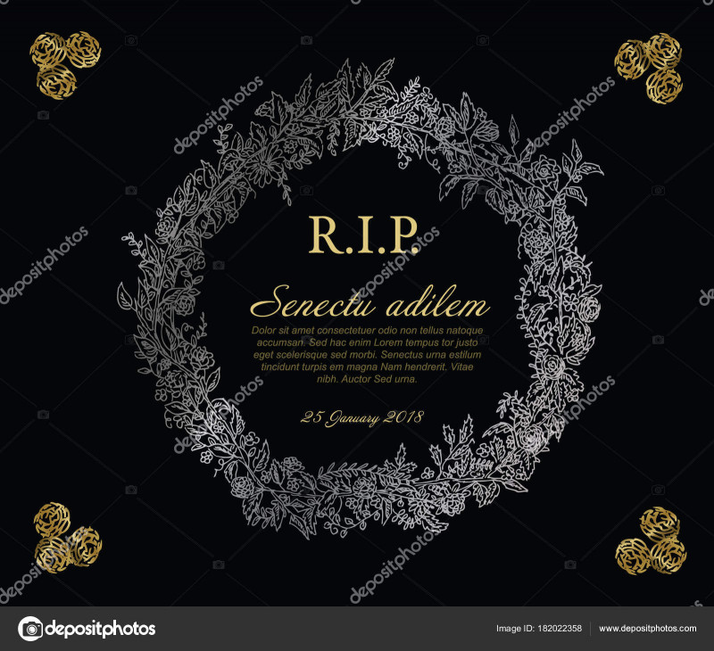 Memorial Cards For Funeral Template Free Awesome Aˆ Funeral Cards Templates Royalty Free Funeral Frame