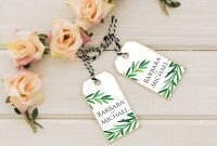 Michaels Place Card Template New Wedding Favor Tag Template Gift Tag Wedding Thank You Tag