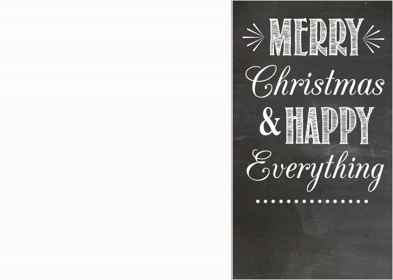 Microsoft Word Birthday Card Template Awesome Black And White Christmas Card Images Best Christmas