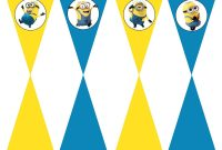 Minion Card Template Awesome Diy Design Den Minion Birthday Party with Free Printables